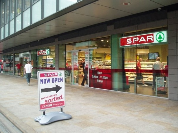 SPAR_Store,_City_Tower,_Piccadilly_Gardens,_Manchester